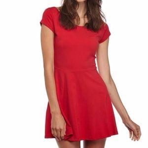 Cotton On Red Mini Skater Dress